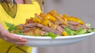 Embedded thumbnail for How To Make A Steak Fajita Salad