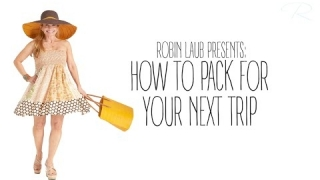 Embedded thumbnail for How to Pack For Your Next Trip